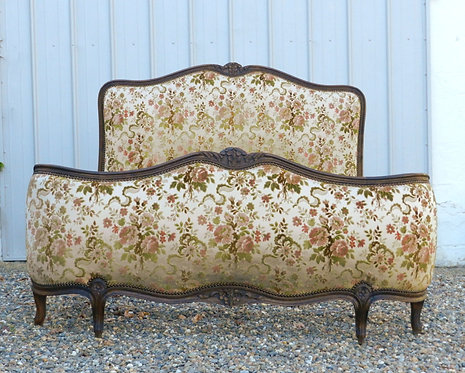 French Demi Corbeille Double Bed