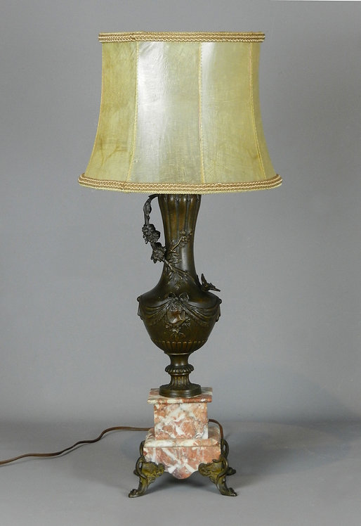 Decorative French Antique Table Lamp