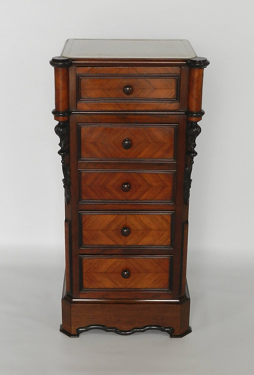 French Rosewood Bedside Cabinet