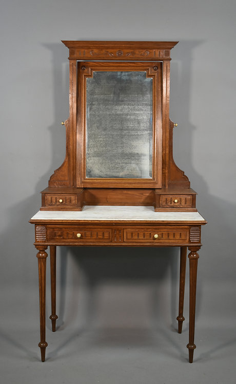 French Oak Dressing Table