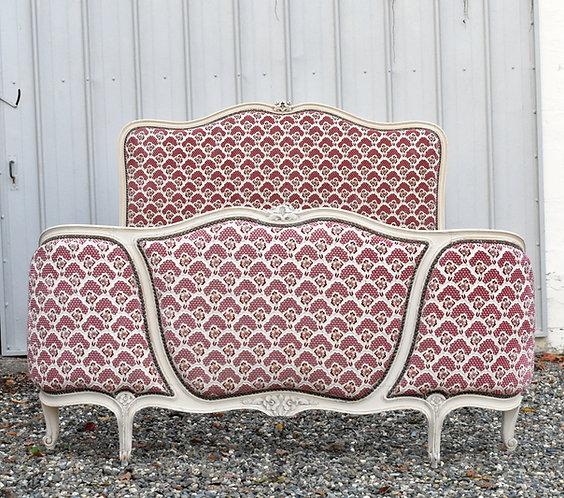 Antique French Corbeille Double Bed