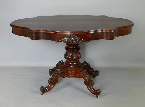 Ornate French Gueridon Violin Table Napoleon III