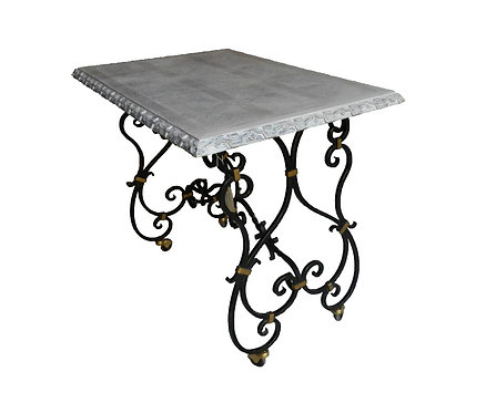 Forged Iron Side Table
