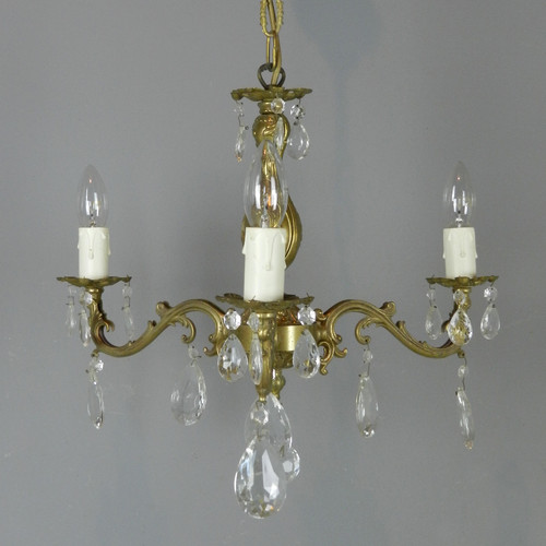 Antique french lighting pyrontique pretty french chandelier matching wall sconces mozeypictures Image collections