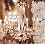 Crystal chandelier rental Vancouver