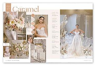 Caramel Wedding Press