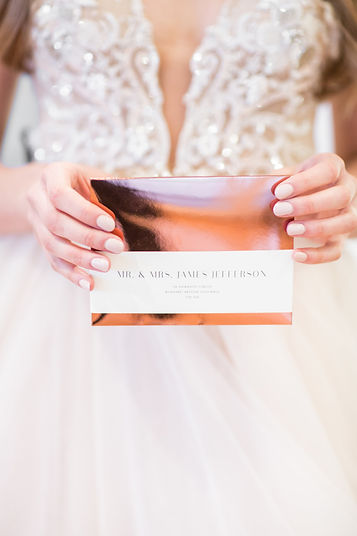 Vancouver Wedding Stationary