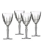 crystal wine glass rental