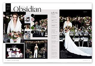 Black Obsidian Wedding Press