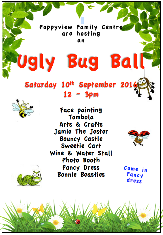 Ugly Bug Ball Poster