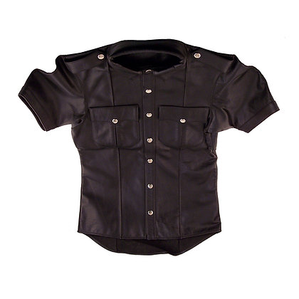 Leather Shirt (Half Sleeves)