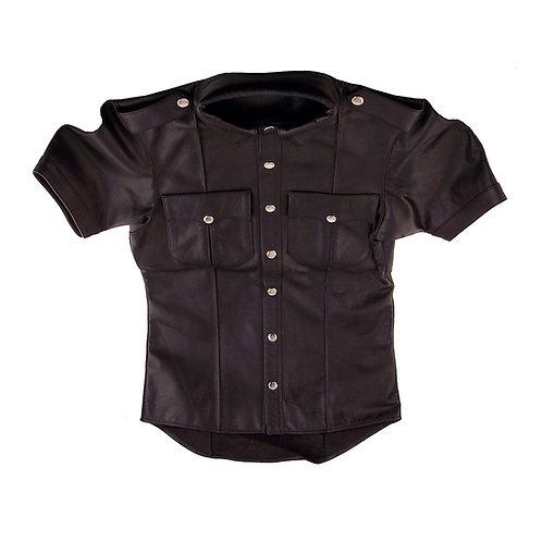 Leather Shirt (Half Sleeves) (RSH1059)