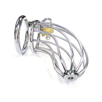 Chastity Cock Cage with Padlock
