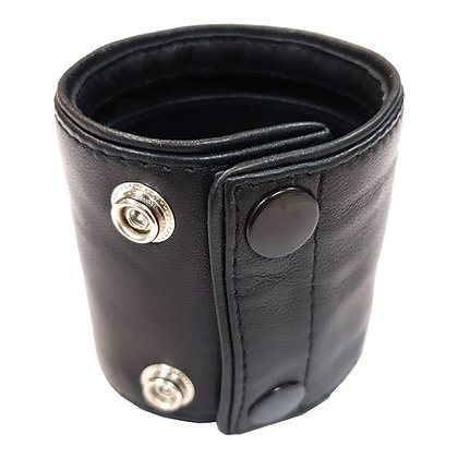 Wrist Band Wallet with Piping