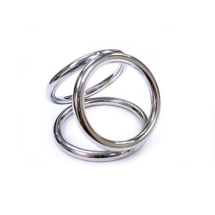 Triple Cock Ring Cage 40mm, 45mm & 50mm