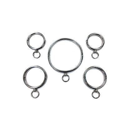 Steel 5 Ring Set