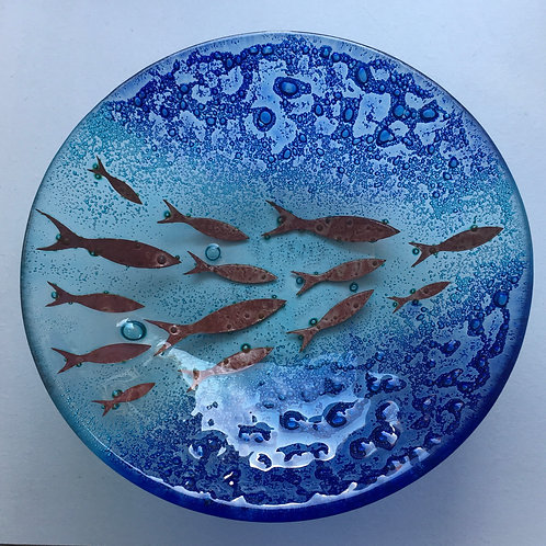 Jo Downs Small Dish - 'Polperro'