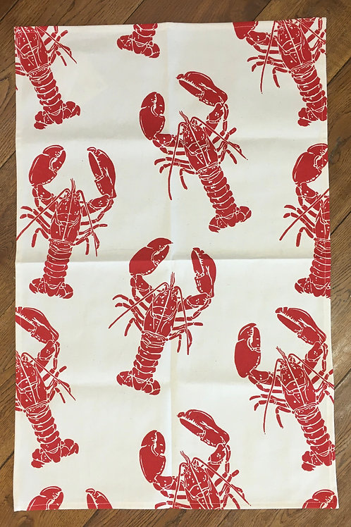 Ulster Weavers 100% Cotton 'Lobsters' Tea Towel
