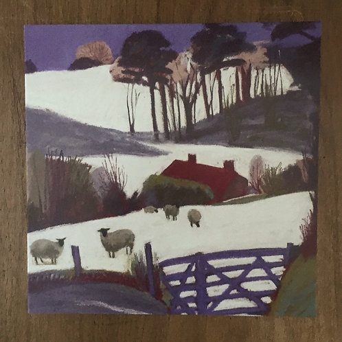 'The Blue Gate' by Sue Campion - 5 x cards