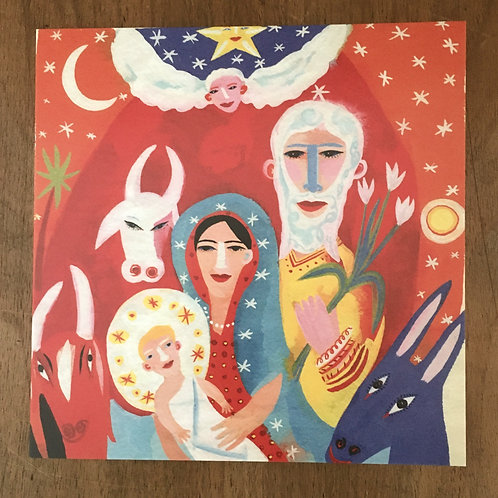 'Nativity' by Christopher Corr - 5 cards