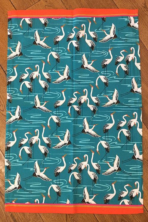 Ulster Weavers 100% Cotton 'Cranes' Tea Towel