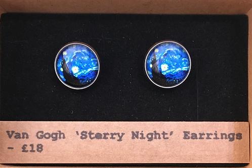 Van Gogh 'Starry Night' Earrings