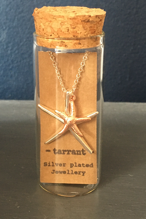 Double starfish necklace