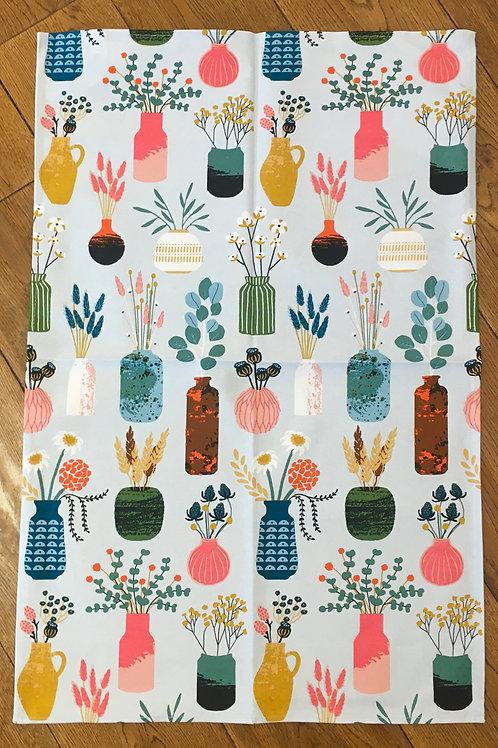 Ulster Weavers 100% Cotton 'Vases' Tea Towel