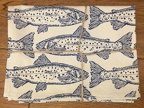 Ulster Weavers 100% Cotton Tea Towel - Salmon