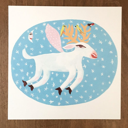 'Reindeer' by Christopher Corr - 5 cards