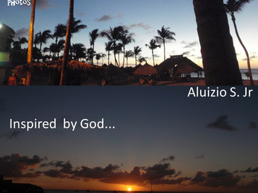 Livro publicado - Sunsets and Sunrises - Inspired by God...