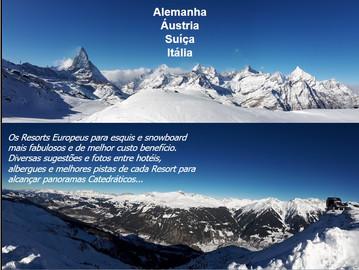 Livro Publicado - Resorts de Inverno nos Alpes