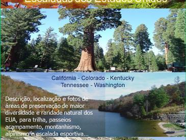 Livro Publicado - Catedrais da Natureza - Parque dos EUA para Trilhas e Escaladas