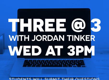 Three @ 3!