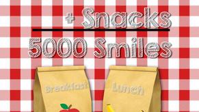 FSCA Feeds 5000 Meals + Snacks = 5000 Smiles