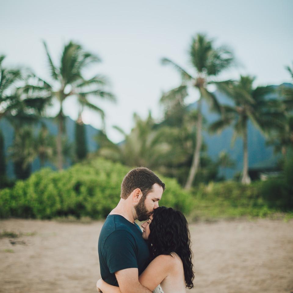 a sunrise couples photo session.