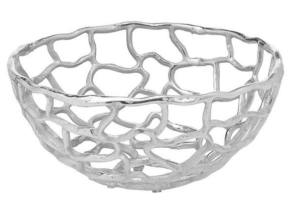 Silver Coral inspired Bowl