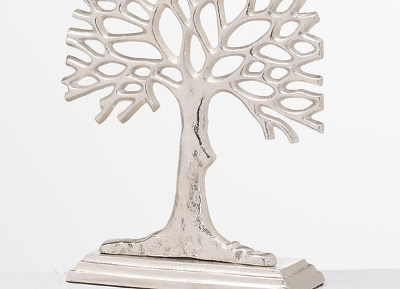 Silver cast sea fan ornament