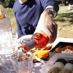 #picnic  #yoyogi #biowine