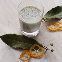 I made #Chiaseed and #almonds milk #pudding #mikasrawfoodrecipe please check my raw food class!