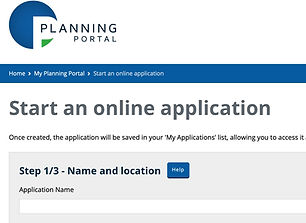 Planning Portal application