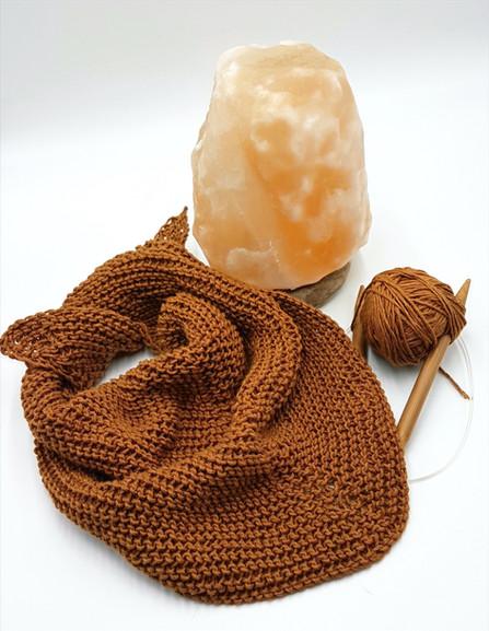 KERCHIEF - Copper Infused Yarn