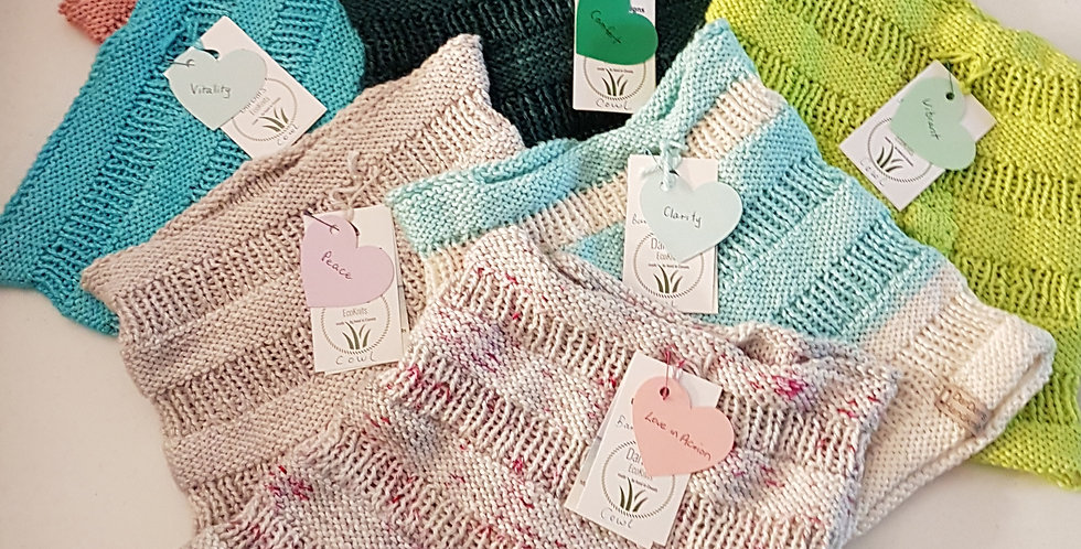 Bamboo Knit Cowls