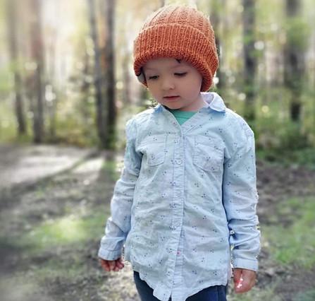 KIDS TOQUE cotton modal