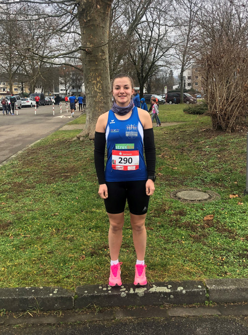 Katharina Oswald läuft in Teningen erneut 10-km-Bestzeit