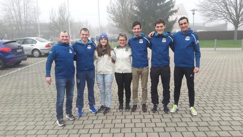 Staffelsieg für Zahn/Bender & Platz drei für Benouaret beim Dreikönigslauf