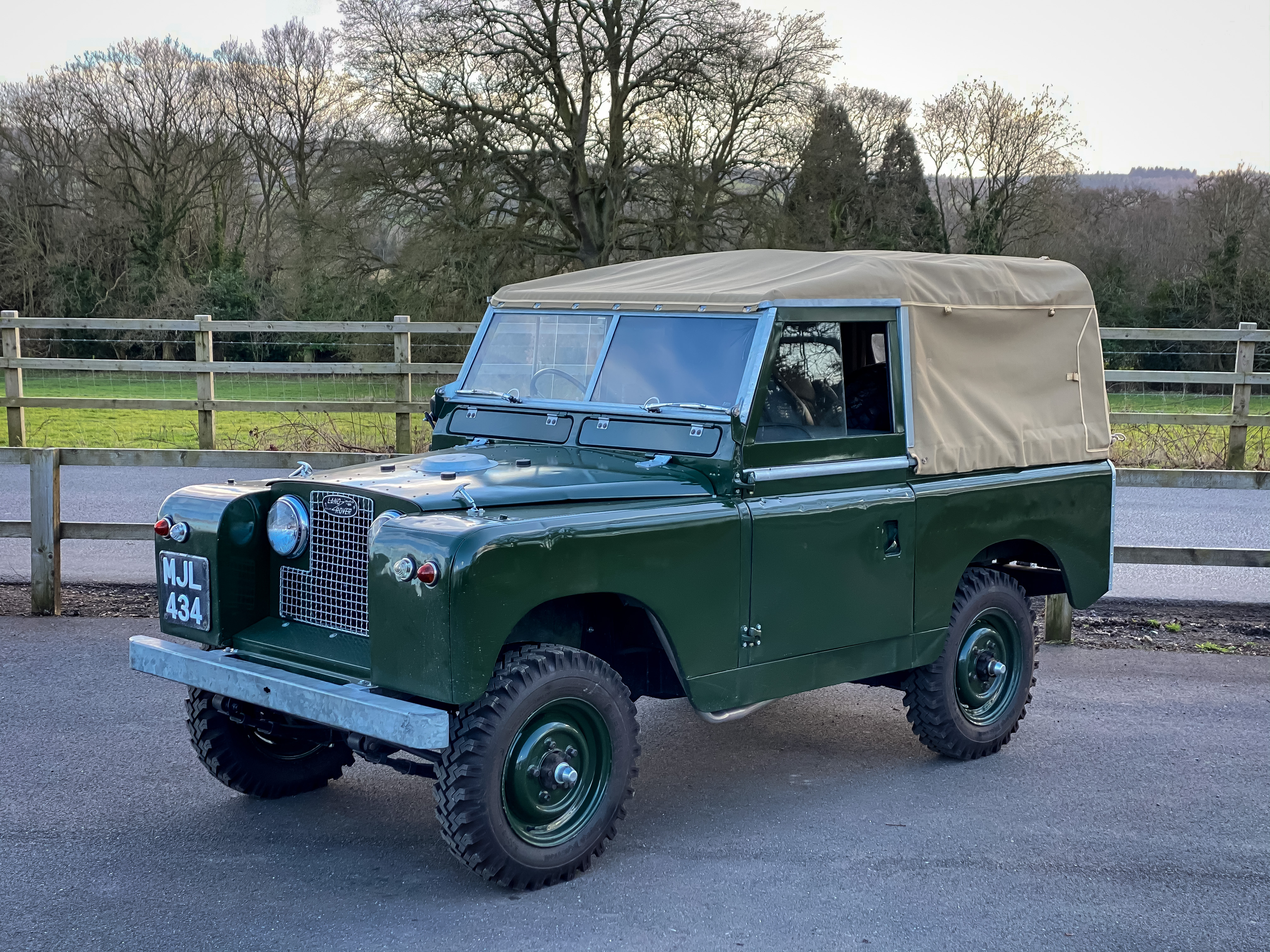 1958 Land Rover Series II