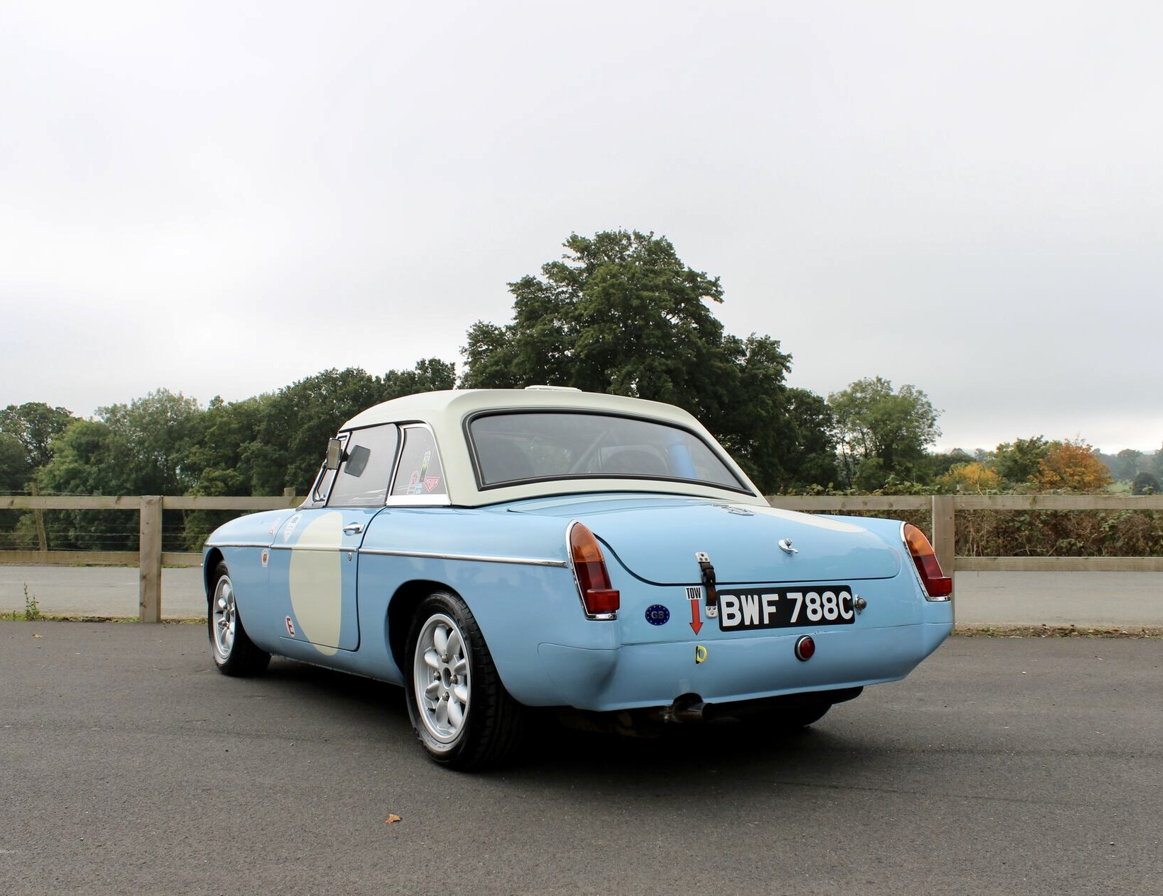 1965 MGB Historic Rally Car