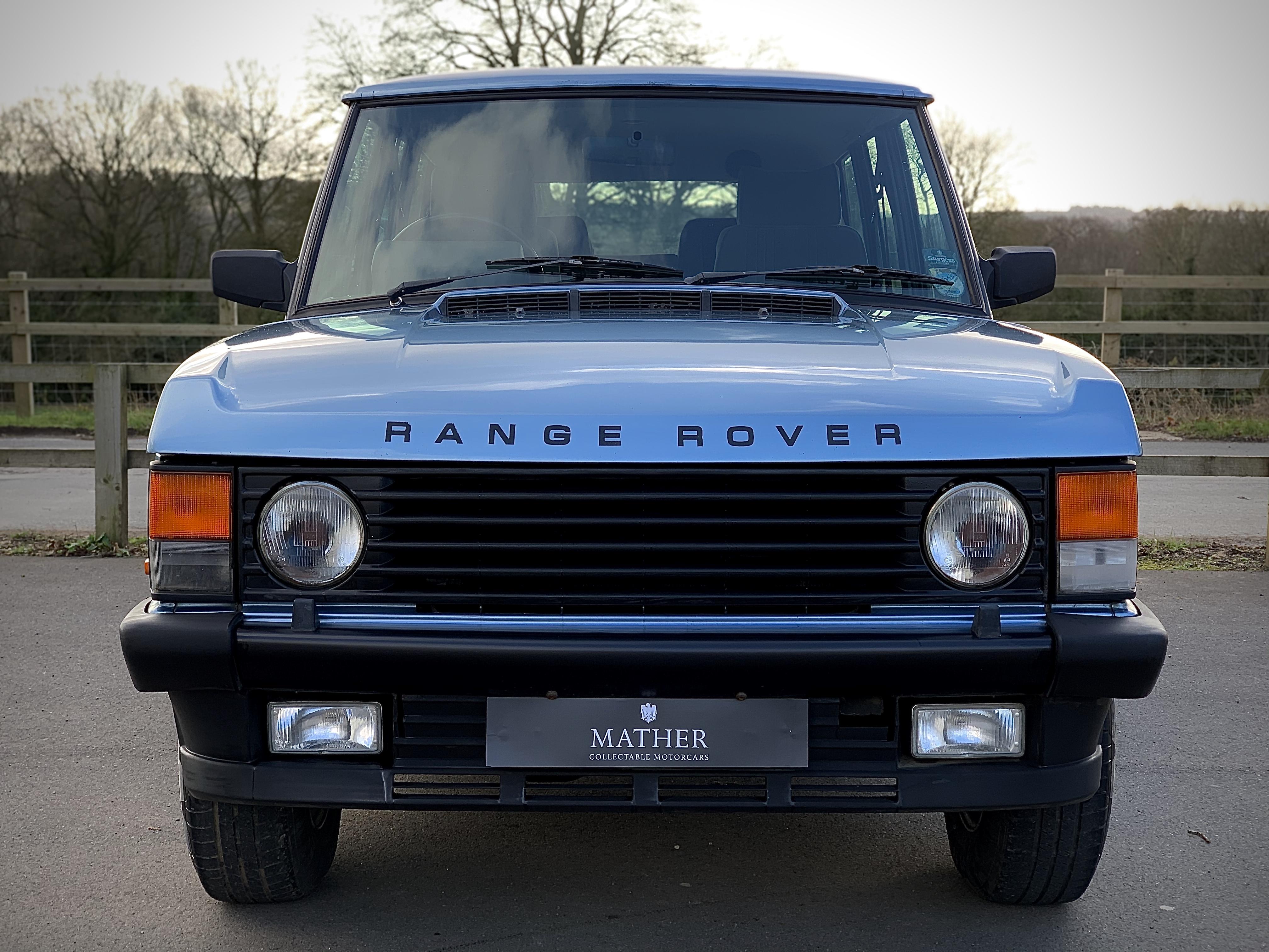 1989 Range Rover 3.5 EFI