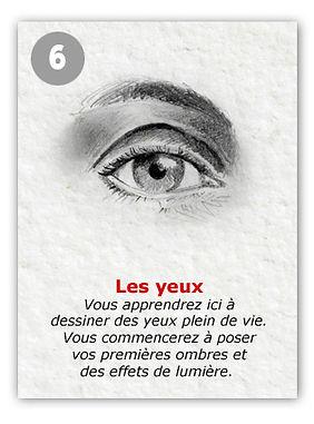 Comment dessiner les yeux ?